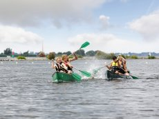 Canoe hire Parc Sandur Emmen Center Parcs
