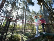 Kids High Adventure (draußen) Les Hauts de Bruyères Chaumont Center Parcs