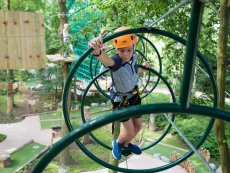 High Adventure Experience (outdoors) De Eemhof Zeewolde Center Parcs