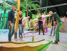 Interactive Indoor Minigolf Les Bois-Francs Verneuil sur Avre Center Parcs