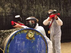 Family Paintball (indoor) Het Heijderbos Heijen Center Parcs
