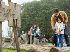 Minigolf Villages Nature® Paris Marne La Vallée Center Parcs