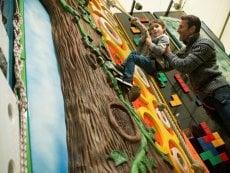 Murs d'escalade Les Trois Forêts Metz Center Parcs