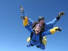 Center Parcs excursions: Tandem skydive Park Allgäu Leutkirch Center Parcs