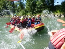 Excursions Center Parcs : Rafting en famille Park Allgäu Leutkirch Center Parcs