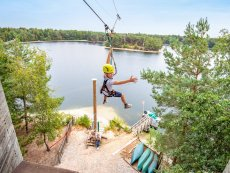 Super Zip Wire De Vossemeren Lommel Center Parcs