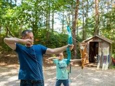Archery (indoor) Les Bois-Francs Verneuil sur Avre Center Parcs