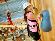High Adventure Experience (drinnen) Het Meerdal America Center Parcs