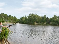 Places to fish Limburgse Peel America Center Parcs