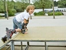 Skate park Le Lac d'Ailette Laon Center Parcs