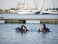 PADI-Adventure-Tauchkurs Port Zélande Ouddorp Center Parcs