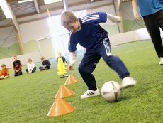 Football (indoor) Parc Sandur Emmen Center Parcs