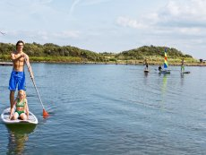 Stand up paddle Port Zélande Ouddorp Center Parcs