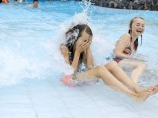 Wave pool Park Bostalsee Sankt Wendel Center Parcs