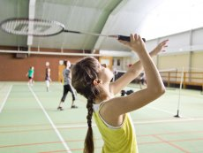 Badminton (indoor & outdoor) Limburgse Peel America Center Parcs