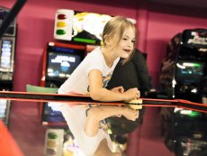 Air-Hockey Les Hauts de Bruyères Chaumont Center Parcs