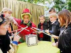 Wannabe ein Zauberer Les Trois Forêts Metz Center Parcs