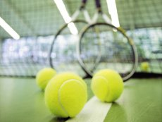 Tennis (indoor) Le Lac d'Ailette Laon Center Parcs