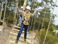 High Ropes Adventure Erperheide Peer Center Parcs