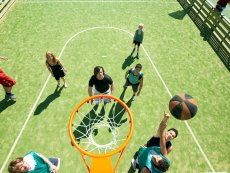 Basketbal (outdoor) Park Bostalsee Sankt Wendel Center Parcs