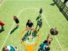 Basketball (indoor & outdoor) De Vossemeren Lommel Center Parcs