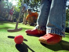 Minigolf (outdoor) Bispinger Heide Soltau Center Parcs