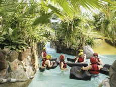 Cool Factor: Wild Water Rafting Bispinger Heide Soltau Center Parcs