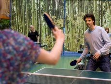 Tafeltennis (indoor & outdoor) Park Bostalsee Sankt Wendel Center Parcs