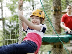Kids High Adventure (outdoor) Park Bostalsee Sankt Wendel Center Parcs