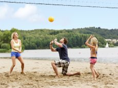 Beachvolleyball (draußen) Park Bostalsee Sankt Wendel Center Parcs
