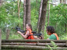 Family Laser Battle (outdoor) Parc Sandur Emmen Center Parcs