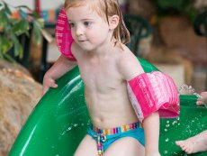 Kiddies swimmers Le Lac d'Ailette Laon Center Parcs