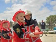 Wannabe ein Feuerwehrmann Le Lac d'Ailette Laon Center Parcs