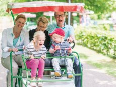 Family Bike Erperheide Peer Center Parcs