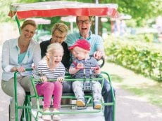 Family Bike Bispinger Heide Soltau Center Parcs