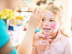 Maquillage Artistique Enfant Park Bostalsee Sankt Wendel Center Parcs