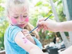 Kinderschminken Les Ardennes Vielsalm Center Parcs