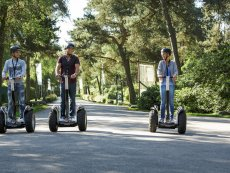 Segway ride Park Bostalsee Sankt Wendel Center Parcs