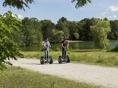 Segway (location) Park Eifel Vulkaneifel Center Parcs