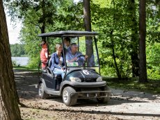 Electric cart Le Bois aux Daims Poitiers Center Parcs