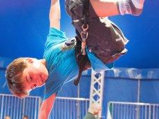 Histoire de cirque Les Hauts de Bruyères Chaumont Center Parcs