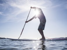 Stand up paddle Bispinger Heide Soltau Center Parcs