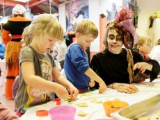 Kiddies-Programm Le Bois aux Daims Poitiers Center Parcs