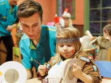 Kids Workshop Parc Sandur Emmen Center Parcs