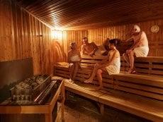 Saunalandschaft Park Eifel Vulkaneifel Center Parcs