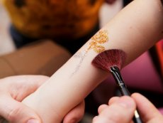 Glitter Tattoo Parc Sandur Emmen Center Parcs