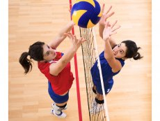 Volleyball Erperheide Peer Center Parcs