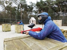 Family Paintball (outdoor) Les Bois-Francs Verneuil sur Avre Center Parcs