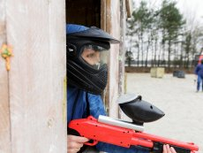 Kids paintball (en extérieur) Port Zélande Ouddorp Center Parcs