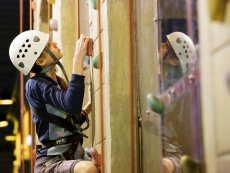 Wall climbing (indoor) De Vossemeren Lommel Center Parcs